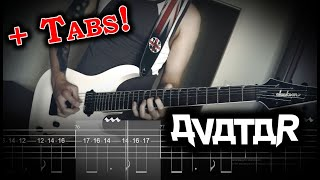 [Play Along With Me] Avatar - The Great Pretender (Guitar Cover w/Tabs)