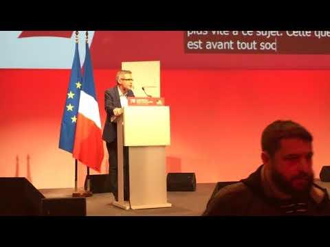 Intervention de Stéphane Troussel Congrès PS 2018