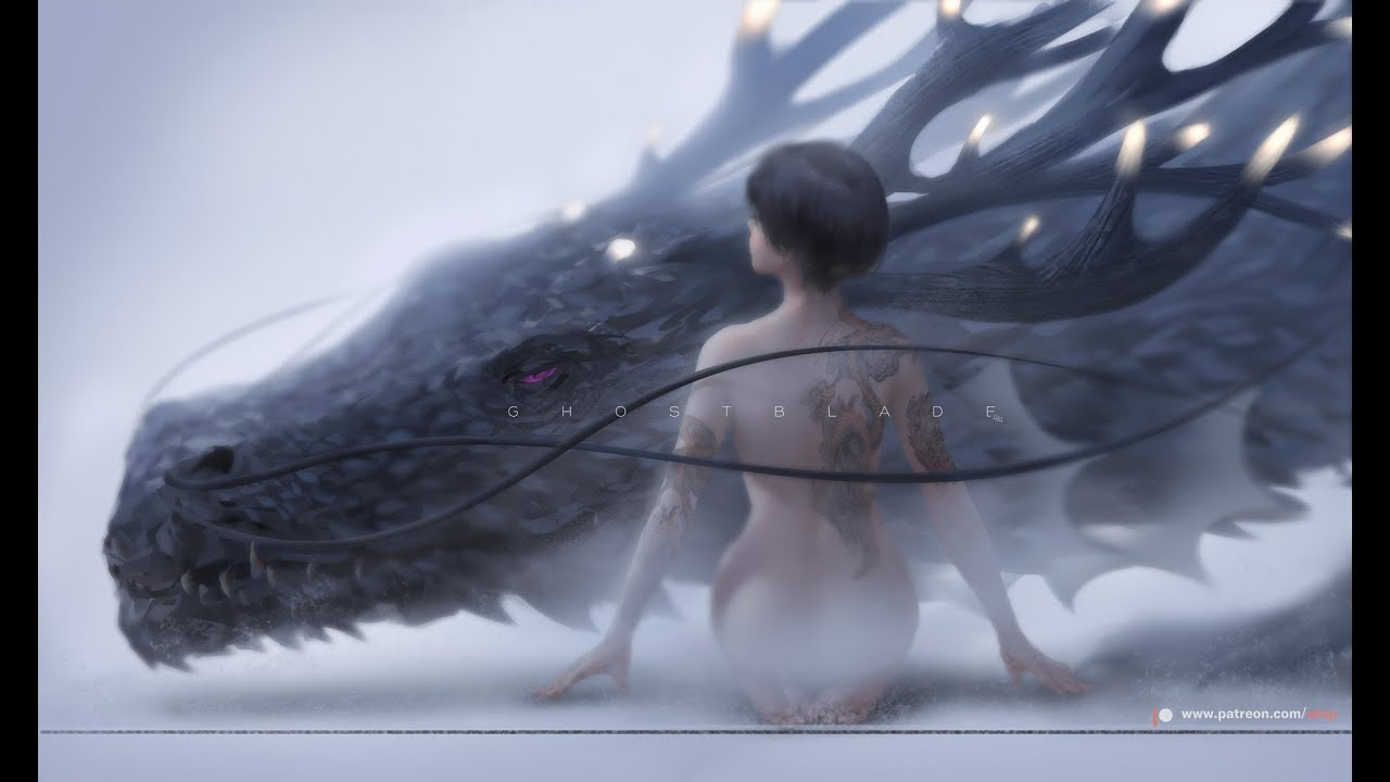 Photoshop painting process - Trapped