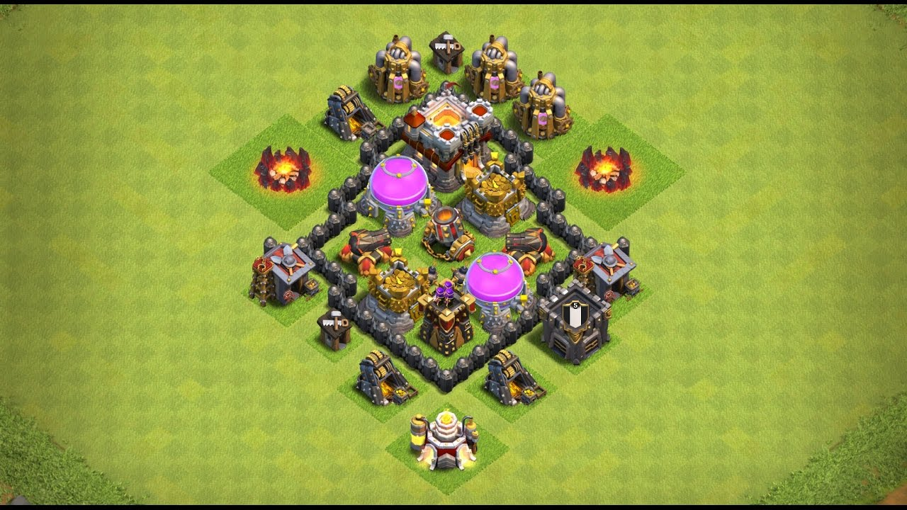 bac7647c78 Undefeated Town Hall 3 (TH 3) Farming Base !! (Anti Storag) [ TH3 Defense ]  - Clash Of Clans | 2017