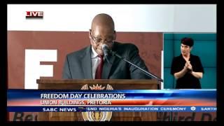 President Jacob Zuma speech - Freedom Day Celebrations