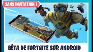 Fortnite ANDROID DISPONIBLE on all phones WITHOUT INVITATION Fortnite Android DOWNLOAD LINK