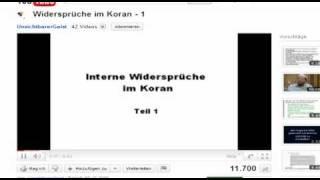 """RE: Widersprüche im Koran """"UnsichtbarerGeist"""" - widerlegt Teil 1"""