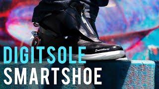 Smart fashion: Self-lacing, heating Digitsole Smartshoe