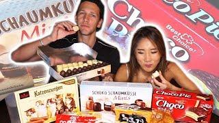 SWEETS: KOREA vs. GERMANY · YB vs. Food