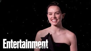 'Star Wars' Star Daisy Ridley Opens Up About 'Reylo' Theories | Entertainment Weekly