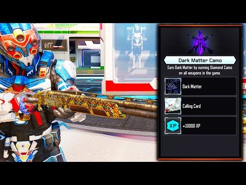 "UNLOCKING DARK MATTER CAMO on the NEW ""OLYMPIA"" DLC WEAPON.. (Black Ops 3 NEW OLYMPIA Weapon)"