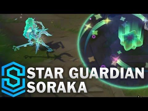 Star Guardian Soraka Skin Spotlight - Pre-Release - League of Legends
