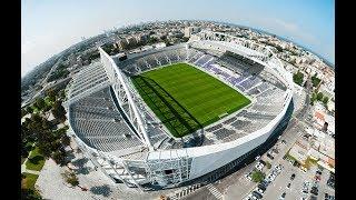אצטדיון בלומפילד המחודש 2019 | Israel In 60 seconds | AirWorks 4K Aerial Photography צילום אווירי