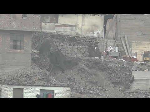 Unregulated construction a potential quake hazard for Peru's capital