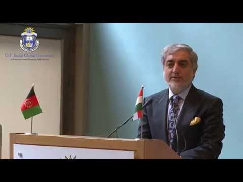 "[Lecture] ""The Future of Afghanistan-India Relations"" - Dr. Abdullah Abdullah"
