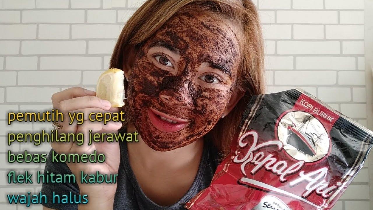 Tips Menghilangkan Jerawat Dan Memutihkan Wajah Dengan Cepat Dengan Masker Kopi Jeruk Nipis Youtube