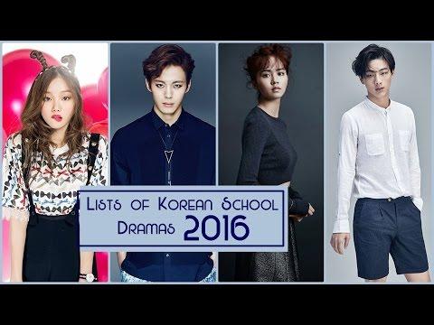 Lists of Korean School Dramas 2016