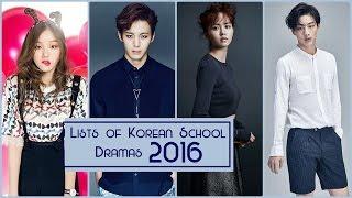 Video Lists of Korean School Dramas 2016 download MP3, 3GP, MP4, WEBM, AVI, FLV Maret 2018
