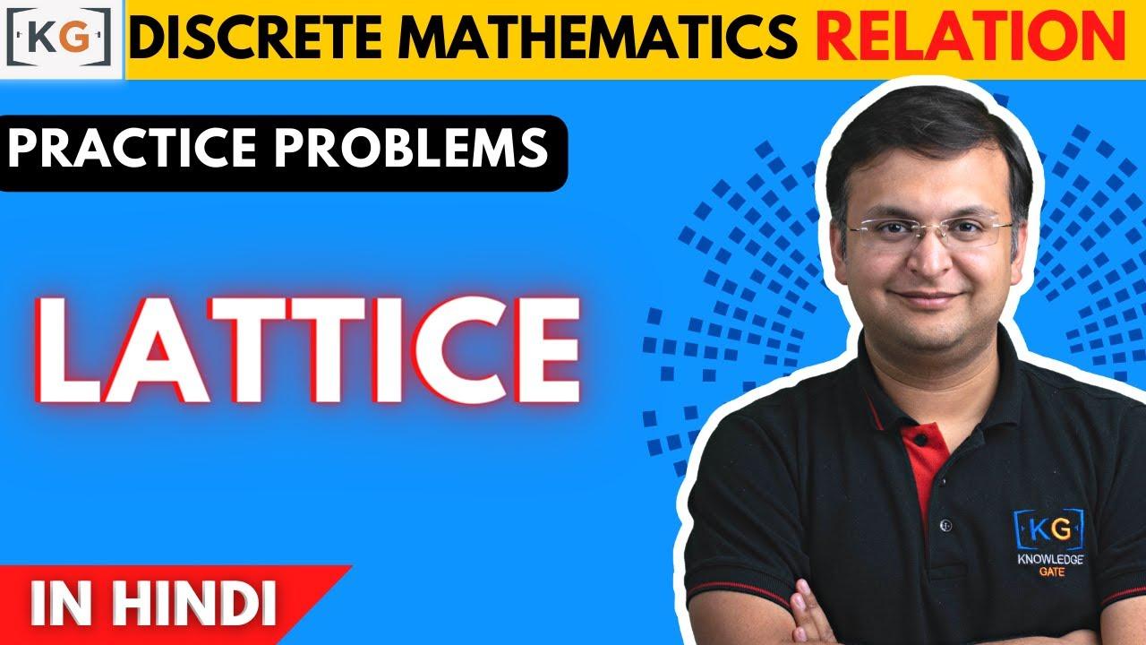 Part 26 Practice Problem On Lattice In Discrete Mathematics In Hindi