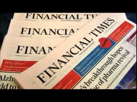 Financial Times sold to Nikkei by Pearson for £844m
