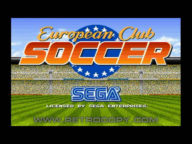 7 of the best Sega Mega Drive football games on it's 25th birthday