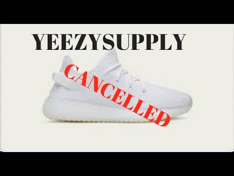 YEEZY SUPPLY cancelled order!! What to