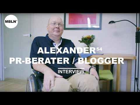 MEIN BERLIN - ALEXANDER 54, PR - BERATER / BLOGGER