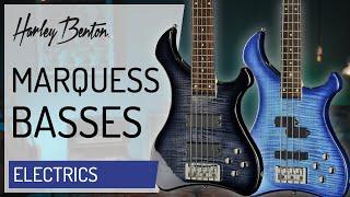 Harley Benton - Marquess Bass - 4 & 5 String