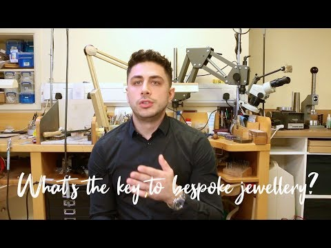 What is the key to bespoke jewellery?
