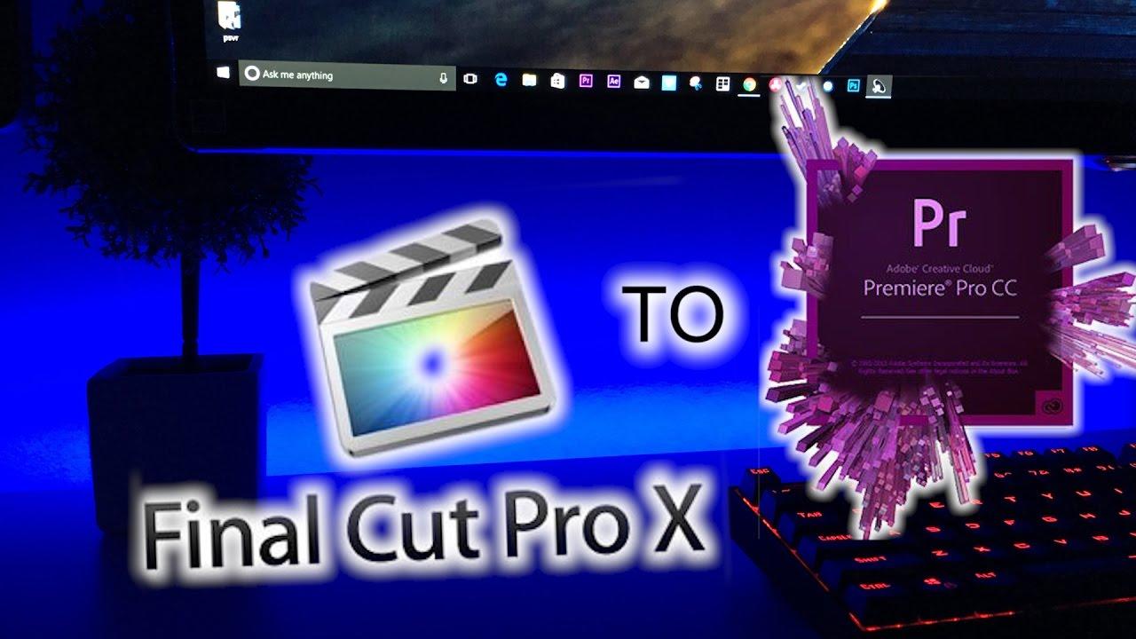 final cut pro or adobe premiere