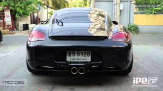 PORSCHE 987.2 W/ Innotech F1 exhaust + headers ( LOUD)
