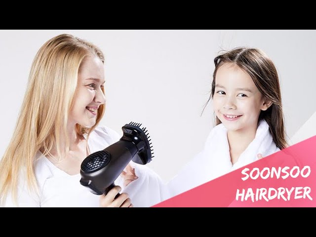 Soonsoo Hairdryer - the Hairdryer That Blocks Electromagnetic Waves, Fine Dust, and Radon