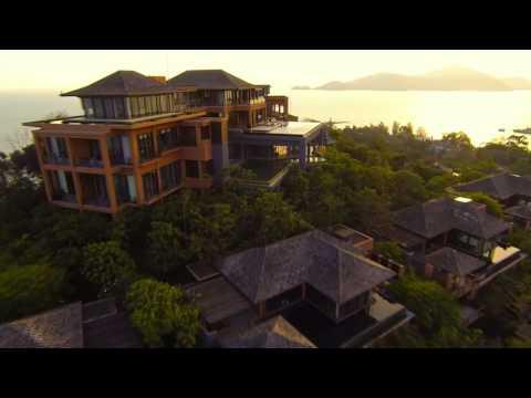 New! Video Sri panwa Phuket | Aerial Highlight Phuket Luxury Hotel Pool Villa Thailand