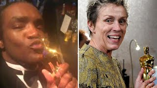 Man Accused of Stealing Frances McDormand's Oscar at After-Party: Cops