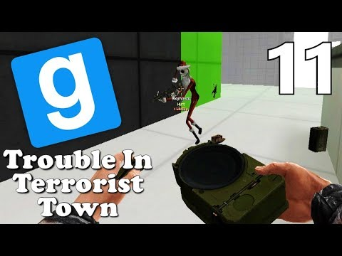 [11] Cloaking Device Surprise!!! (Gmod TTT Gameplay)
