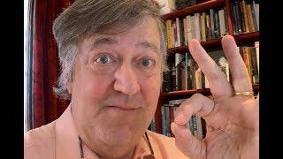 Stephen Fry Uses the OK Symbol #mentalhealthawarenessweek