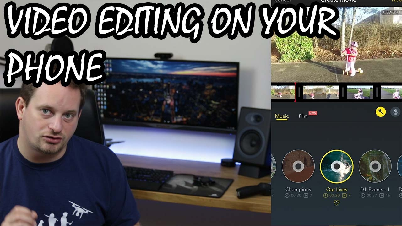 DJI Go Video Editing