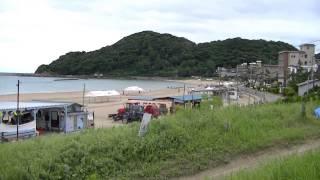 浜詰(夕日ヶ浦)海水浴場 京都府京丹後市