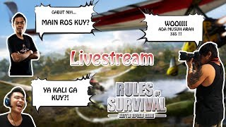 MATI LAMPU + RTO GAMING !! - Rules of Survival Indonesia