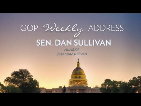 5/14/16 Sen. Dan Sullivan (R-AK) delivers GOP Weekly Address on President Obama