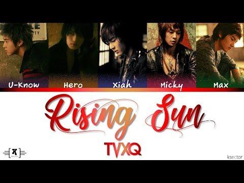 "TVXQ - ""Rising Sun"" Lyrics [Color Coded Han/Rom/Eng]"