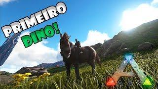 O PRIMEIRO DINOSSAURO!! --- ARK MORE CREATURES #03