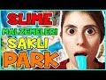 Slime Malzemeleri Saklı Park Challenge Dila Kent