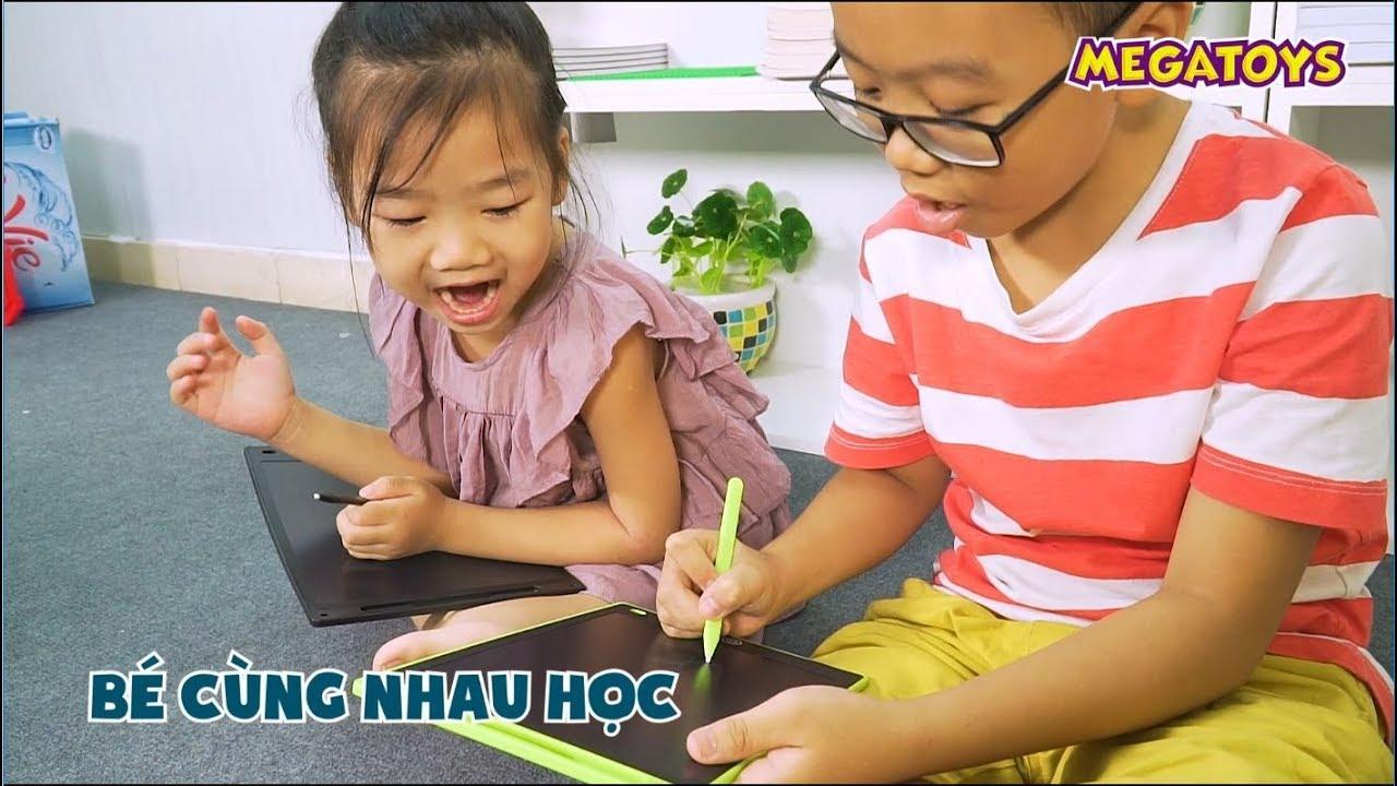 Bảng vẽ điện tử thông minh tự xóa – đồng hành cùng con vào năm học mới