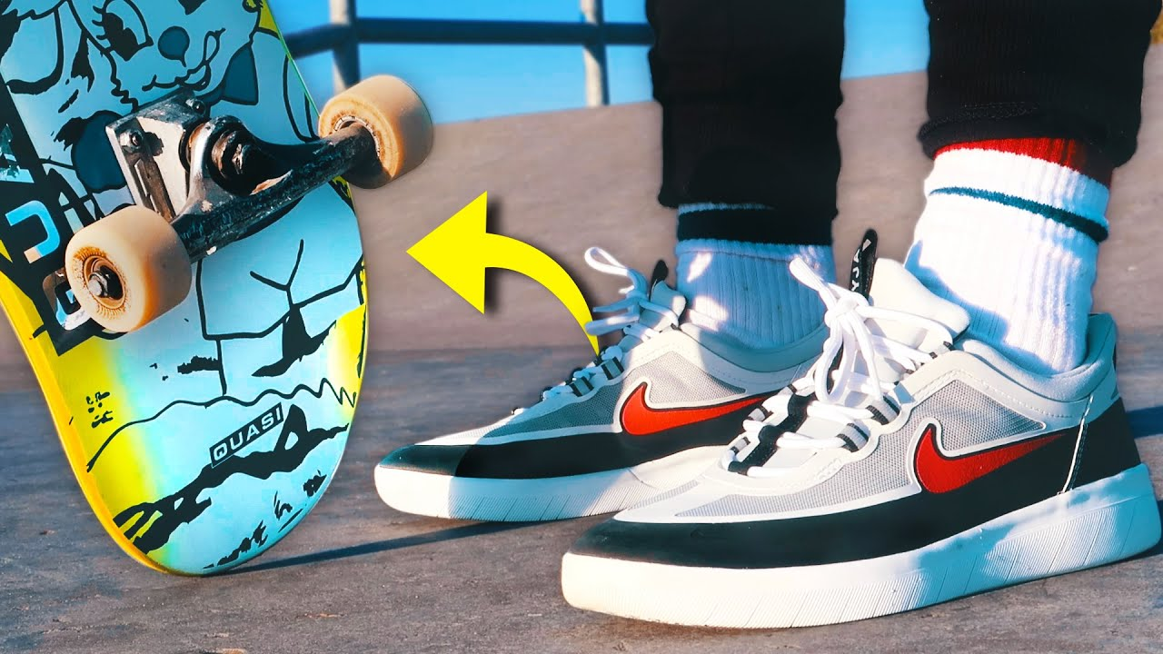 100 Kickflips in the Nike SB Nyjah Free 2!