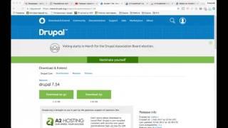 Создание сайта на Drupal 7