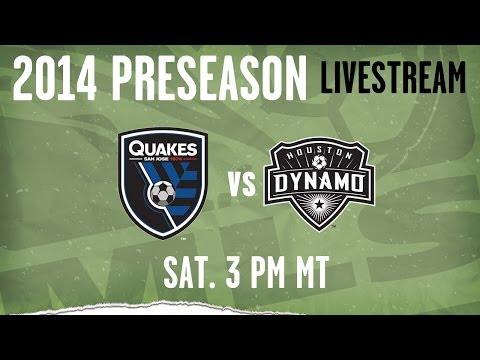 Houston Dynamo vs. San Jose Earthquakes | 2014 MLS Preseason