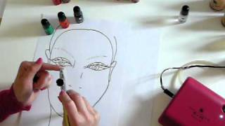 How to mix colour and clean your airbrush by Hollywood Air Airbrush Makeup TV Thumbnail