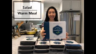 Nutrition for Longevity 5 days Pescatarian Meals  Organic, Farm to the Table