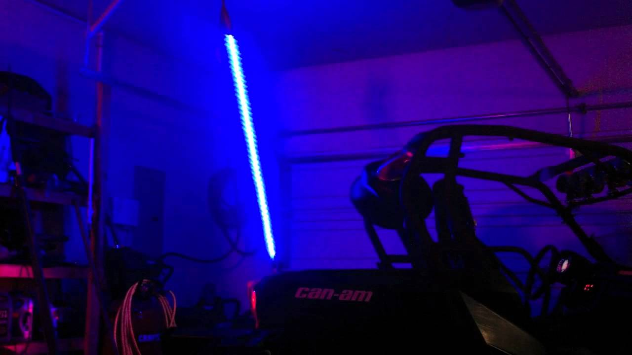 Diy Color Changing Led Whip Youtube