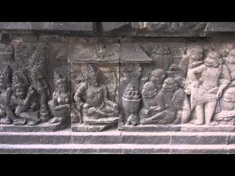 The temple of Prambanan (Yogyakarta - Java - Indonesia)