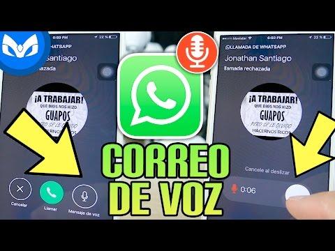 "WHATSAPP UPDATE "" CORREO DE VOZ "" En LLAMADAS ?"