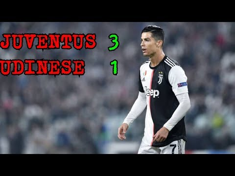 Juventus vs udinese || 3 - 1  Serie A 15/12/2019