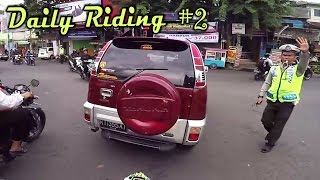 yang penting happy yeeaahh   daily riding 2   triples motovlog
